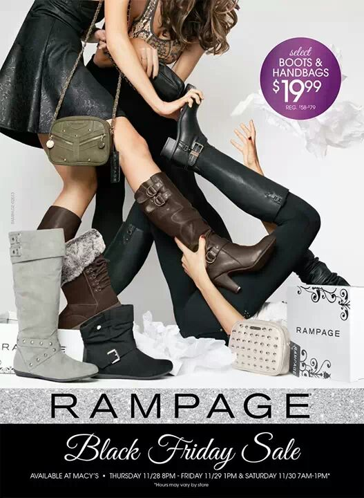 Rampage > Black Friday Ad