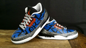 jordan 3 NYK customs